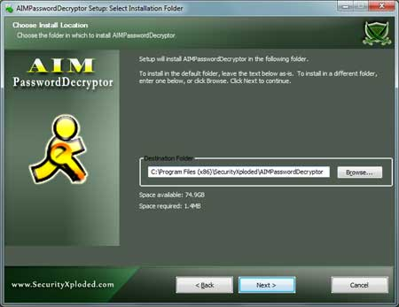 AIMPasswordDecryptor Installer