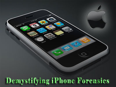 Demystifying iPhone Forensics on iOS 5 | www SecurityXploded com