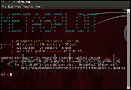 Pen Testing with Metasploit