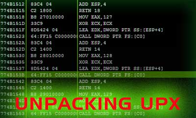Manual Unpacking of UPX Packed Binary File - www
