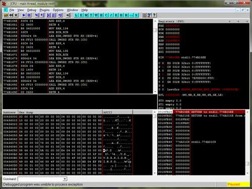 Manual Unpacking of UPX Packed Binary File - www SecurityXploded com