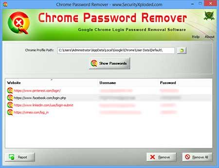 ChromePasswordRemover
