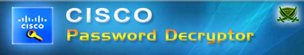 Cisco Password Decryptor