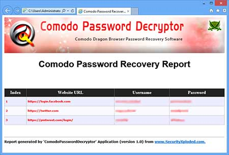 ComodoPasswordDecryptor