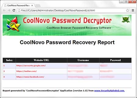CoolNovoPasswordDecryptor