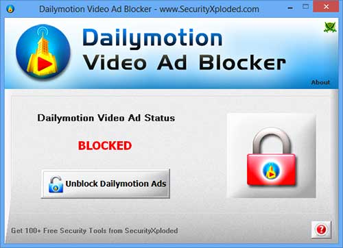 DailymotionVideoAdBlocker Screenshot