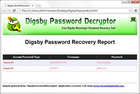 Exported Digsby Accounts to HTML