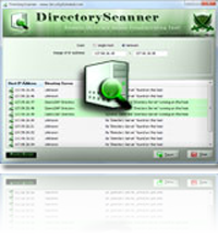 Launched Directory Scanner – Remote Directory Server Fingerprinting Tool