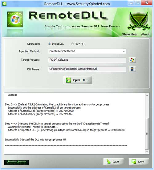 DLL Injection and Windows 8