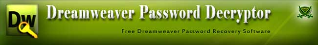 DreamweaverPasswordDecryptor