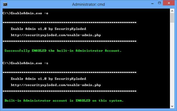 Enable Admin 1.5 full