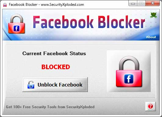 Block Facebook Screen shot