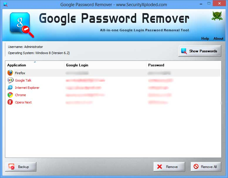 Google Password Remover: Free All-in-one Google Account
