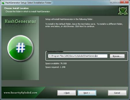 HashGenerator Installer