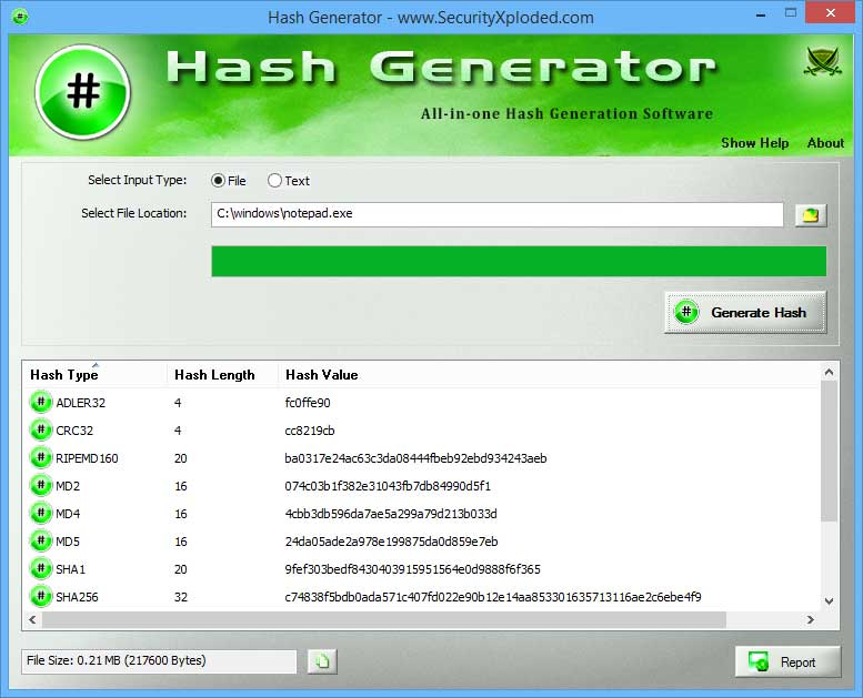 Hash Generator : Free All-in-one Tool to Generate Hash MD5/SHA1 ...