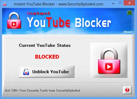 Instant YouTube Blocker Screen shot