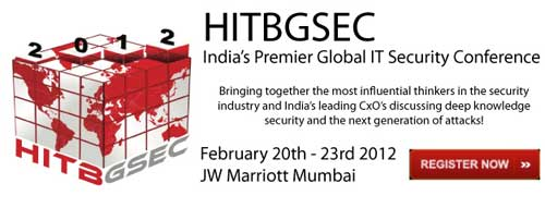 HITB Security Conference Sets up Maiden Show in India