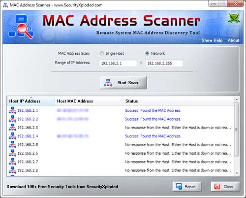 MACAddressScanner