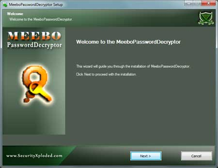 MeeboPasswordDecryptor Installer