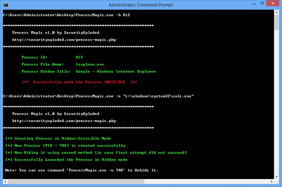 Windows 7 Process Magic 2.0 full