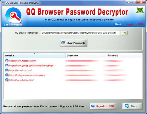 See more of Password Decryptor for QQ Browser