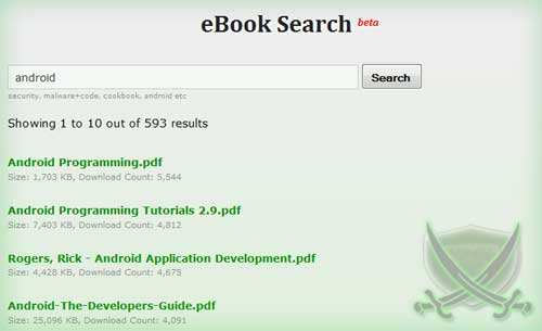 Launching eBook Search Service