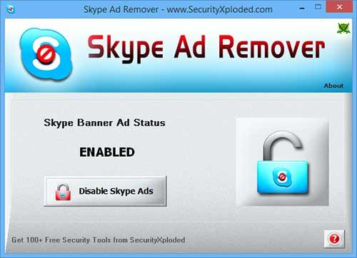Skype Ad Remover