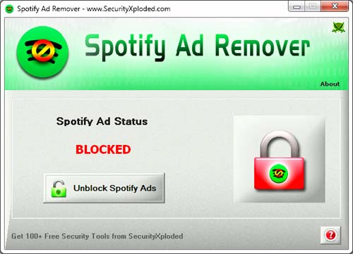 Spotify Ad Remover Screen shot