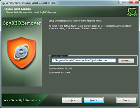 SpyBHORemover Installer