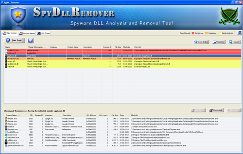 Windows 7 Spy DLL Remover 7.0 full