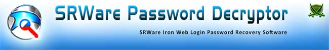 SRWare Password Decryptor