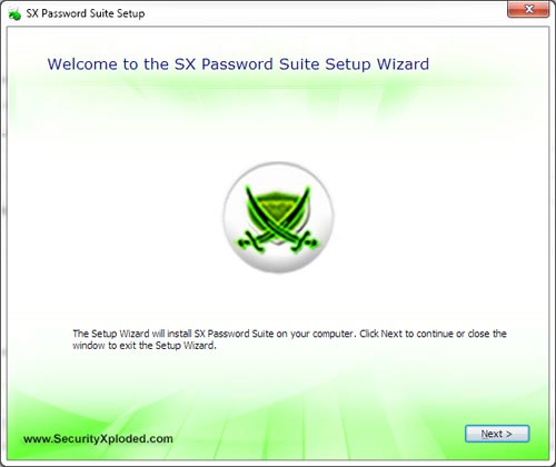 SXPasswordSuite Installer