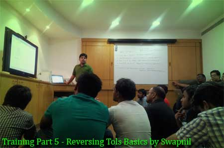 Training Session Part 5 – Reverse Engineering Tools Basics