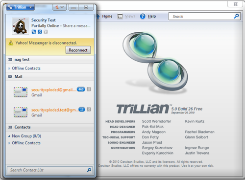 trillian messenger
