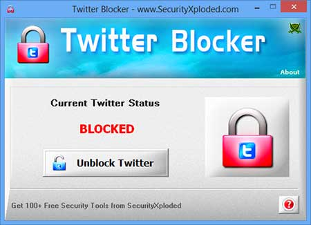 Block Twitter Screen shot