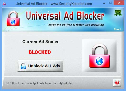 Universal Ad Blocker Screen shot