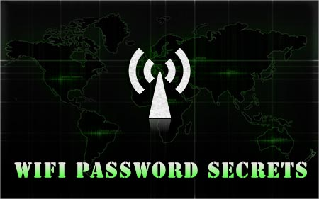 WiFiPasswordDecryptor showing recovered passwords