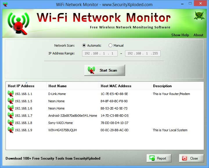 WiFi Network Monitor 6.0 full