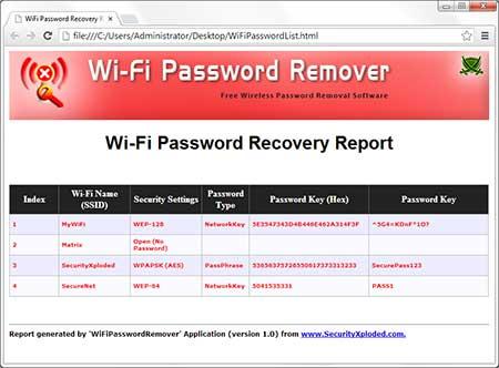 WiFiPasswordRemover