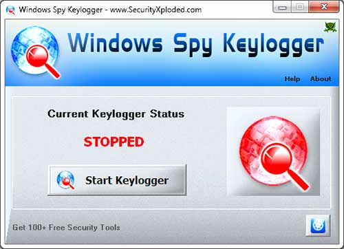 WindowsSpyKeylogger Screenshot