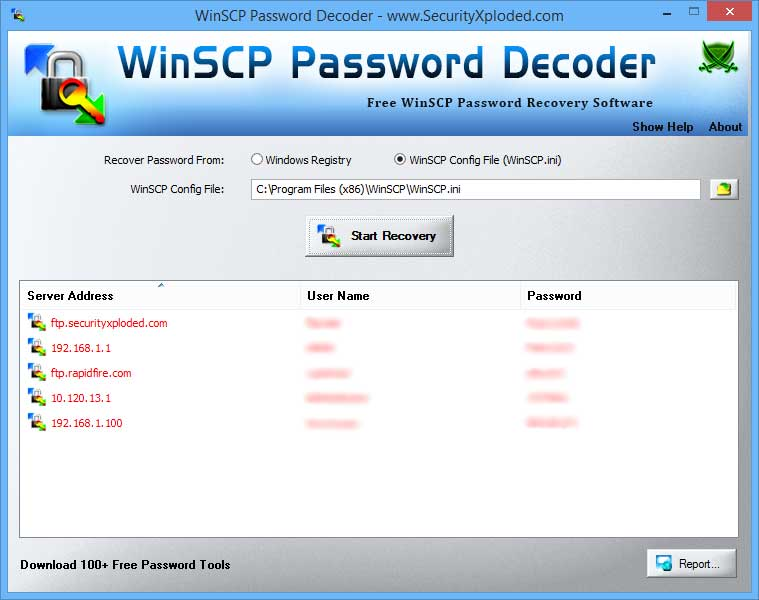 WinSCP Password Decoder: Free Tool to Recover Lost or Forgotten
