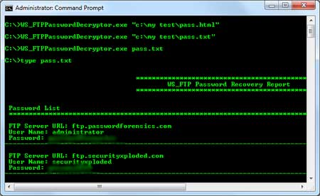 WS_FTPPasswordDecryptor