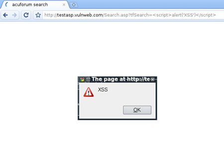 XSS in action