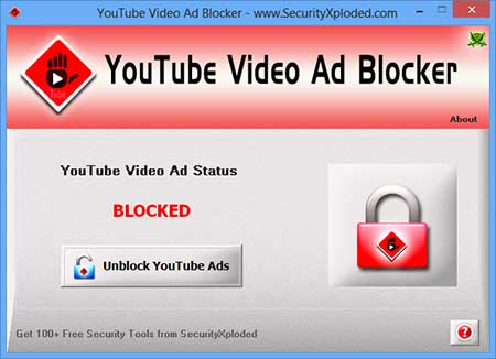 YouTubeVideoAdBlocker Screenshot